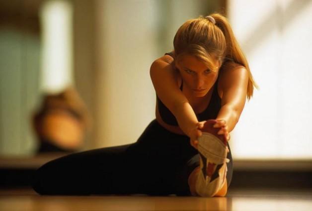 Заняття з стретчингу: розтяжка